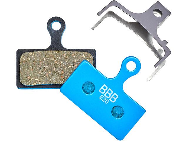 BBB DiscStop Bremsbeläge XTR blue